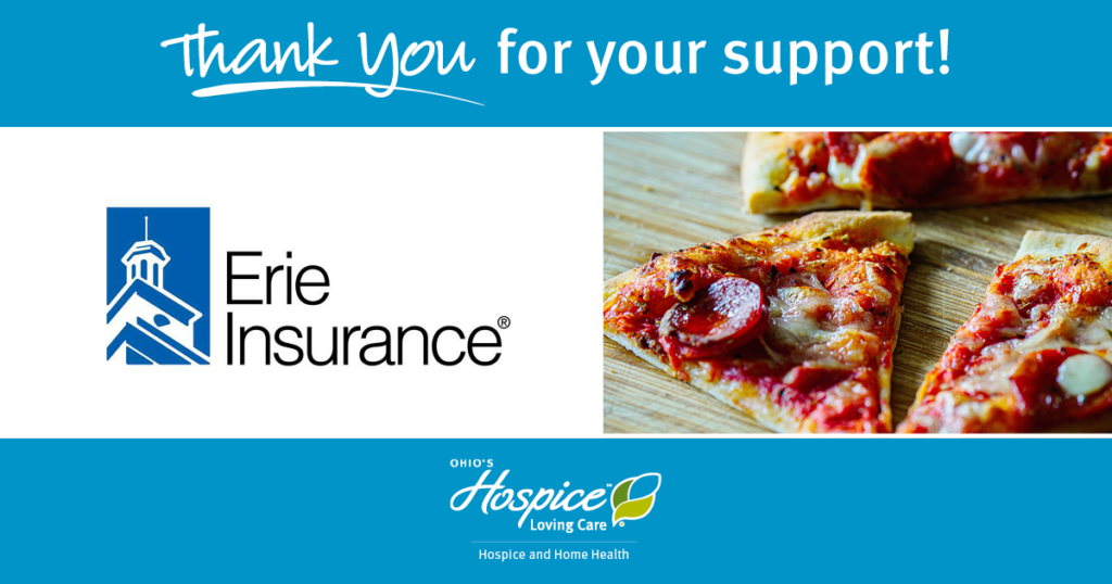 Thank You Erie Insurance for the Support