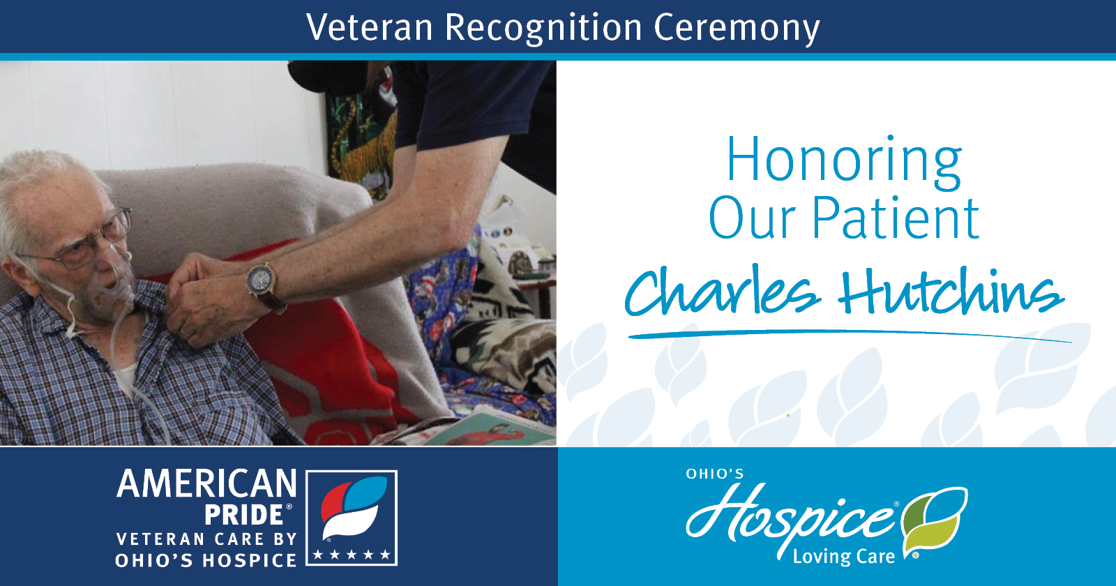 Honoring Our Patient Charles Hutchins